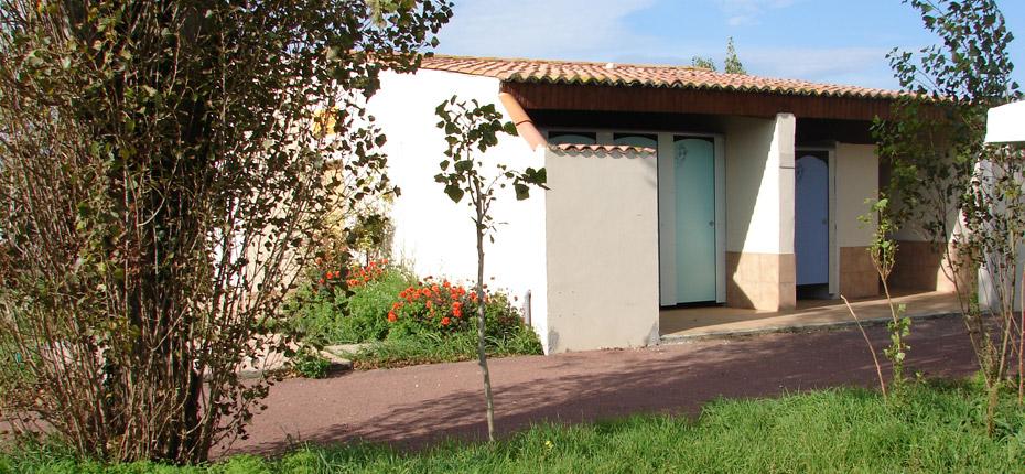 Les sanitaires de notre camping à Saint Denis d'Oléron