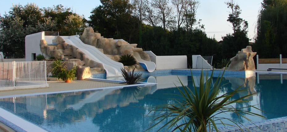 Les installations de notre espace aquatique sur Oléron