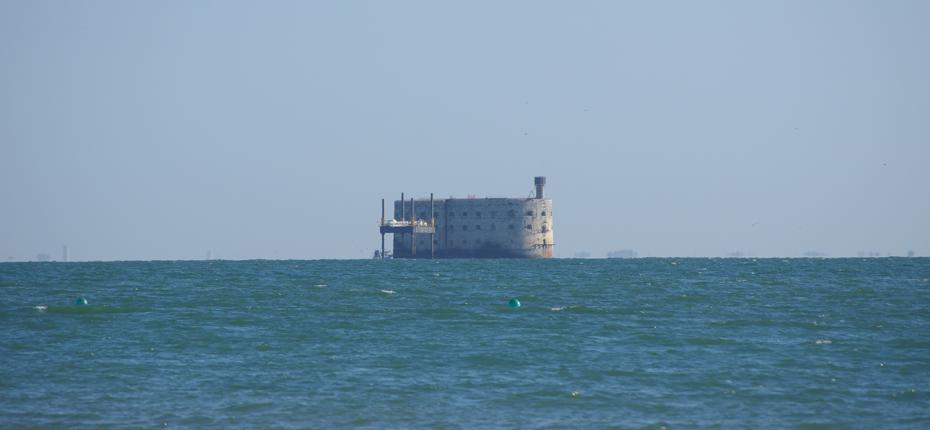 Le célèbre Fort Boyard en Charente-Maritime