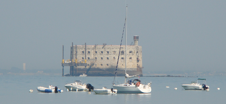Découvrez Fort Boyard au large d'Oléron