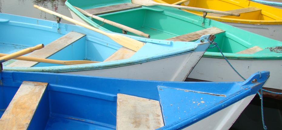 Le port des salines non loin de notre camping sur Oléron