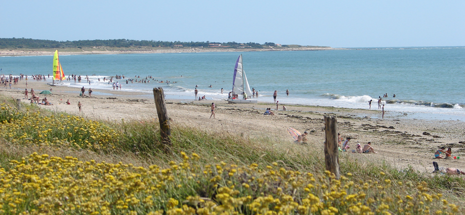 Bronzez à la grande plage de Saint Denis d'Oléron