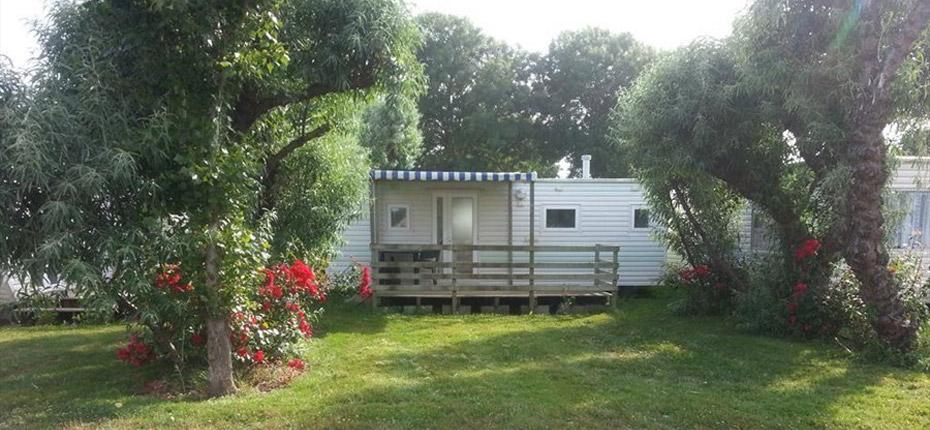 Location de mobil home toit plat sur l 39 le d 39 ol ron for Entretien jardin oleron