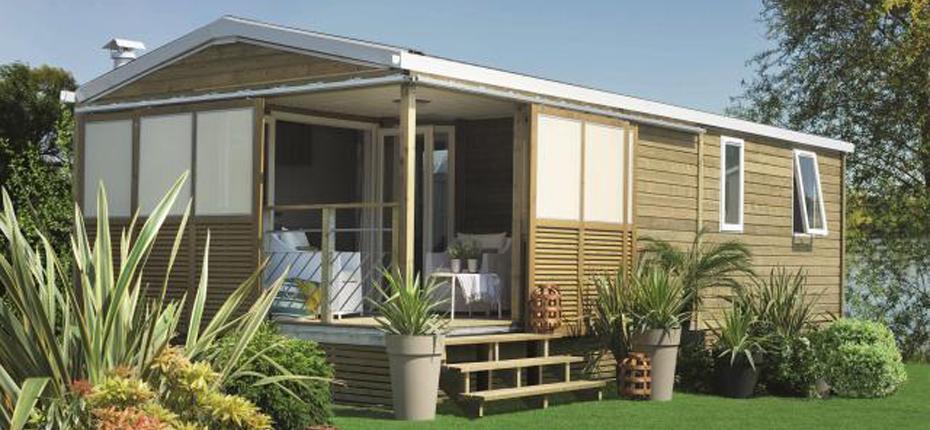 Réservez votre mobil-home avec terrasse couverte à Saint Denis d'Oléron