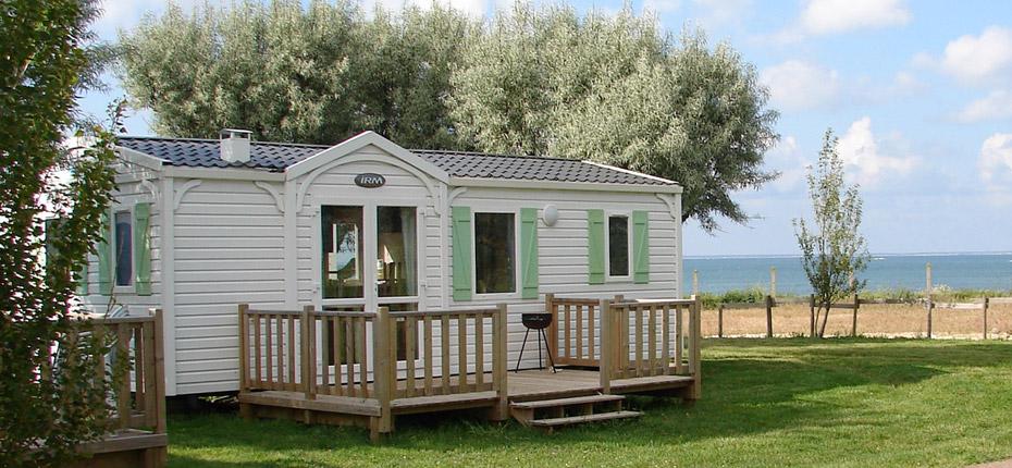 Louez votre location de mobil-home dans notre camping sur l'île d'Oléron
