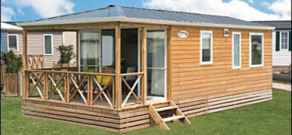 Rental mobile home 2 bedrooms island of Oleron - CAMPING PHARE OUEST ...