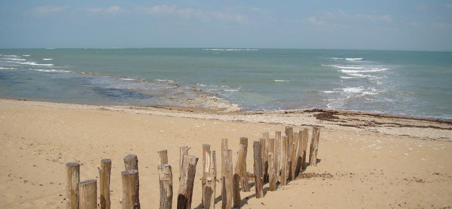 Baignez vous à la plage, non loin du camping sur Oléron