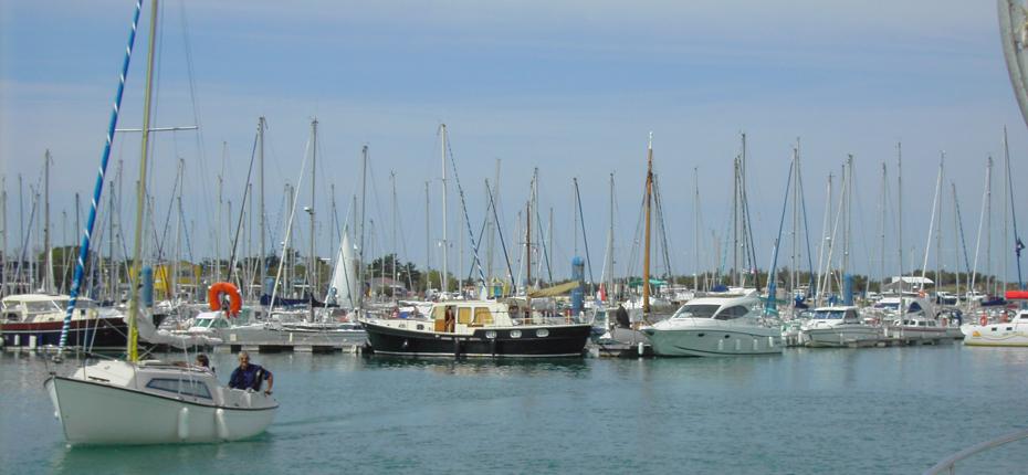 Sortez en mer depuis le port de Saint Denis d'Oléron