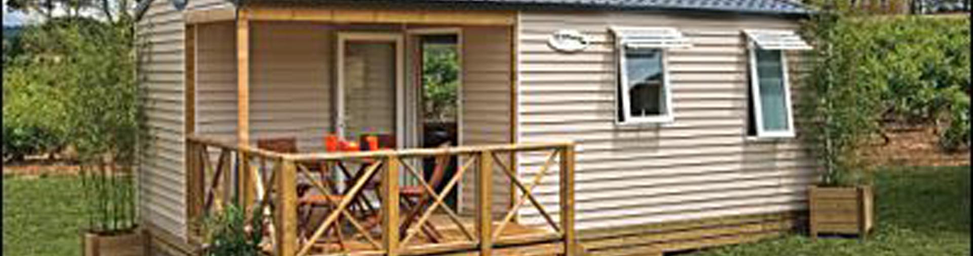 location mobi-home 4p terrasse semi couverte ile oleron