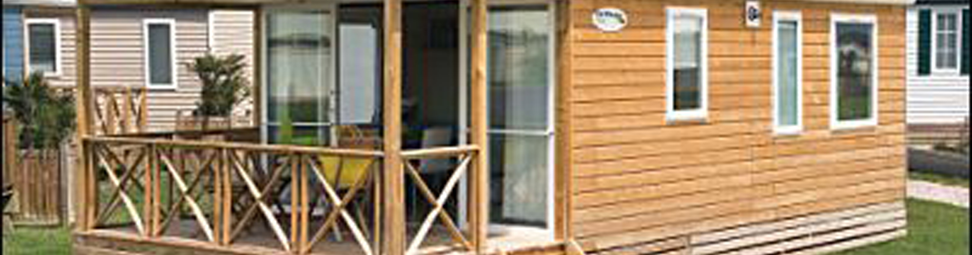 location mobil-home 4p terrasse couverte Oléron